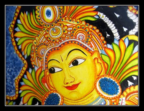 Art in india for Mural painting designs
